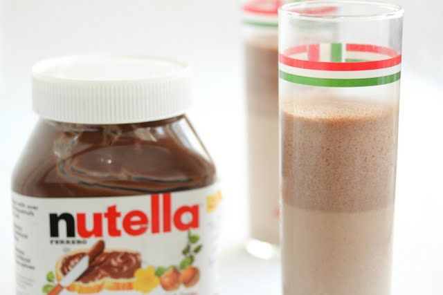 Nutella Milkshakes | Treats | Pinterest