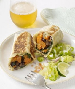 Addictive Sweet Potato Burritos | Bon Appétit | Pinterest