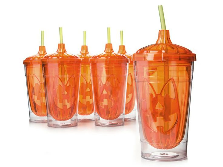 Cool Gear 18oz Molded Pumpkin Chiller-S/6 for $24.99