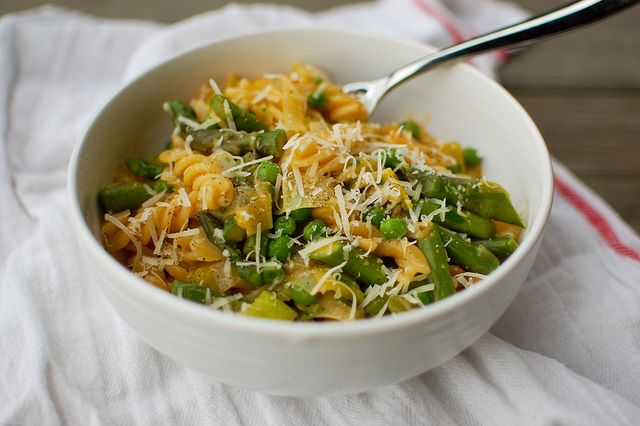 Spring Vegetable Pasta | yum | Pinterest