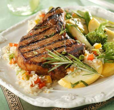 Italian Herbed Pork Chops | Dinner | Pinterest