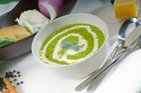 avocado and spinach bisque | So So Savory! | Pinterest