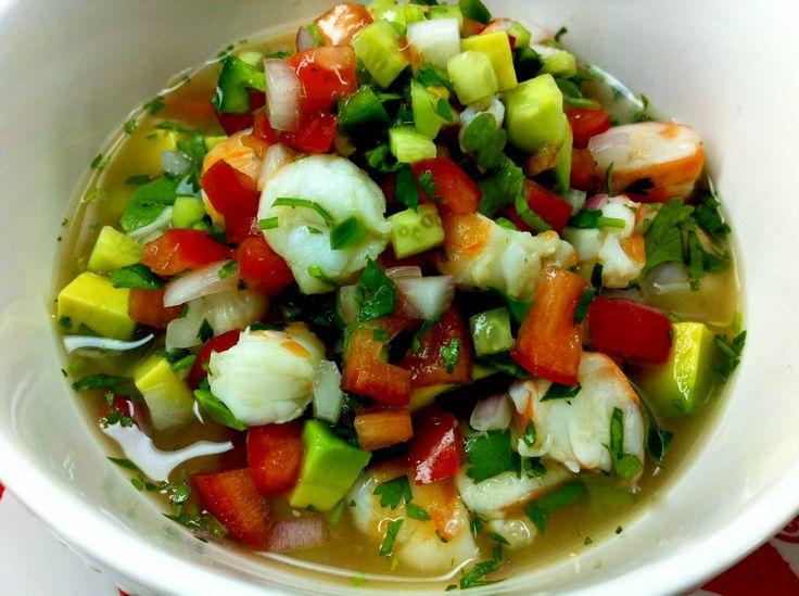 Seafood Special: Shrimp and Avocado Ceviche - Paleo Recipes