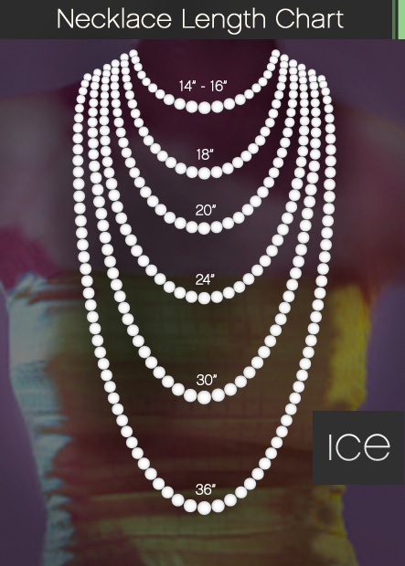 Necklace Lengths | Do it yourself