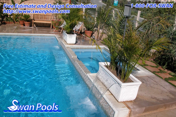 Pin by swan pools on swan pools aesthetics cantilever for Swimming pool estimate