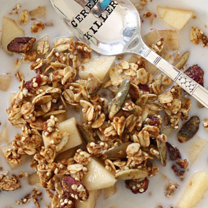 Easy Pumpkin Spice Granola Recipe | Granola | Pinterest
