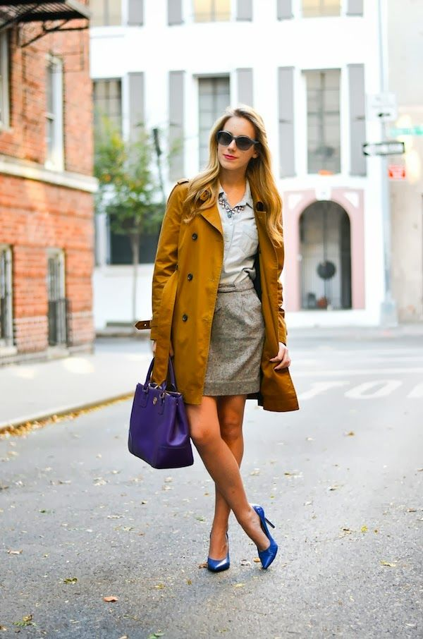 preppy fall look