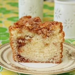 Cinnamon-Walnut Coffee Cake | Recipes | Pinterest