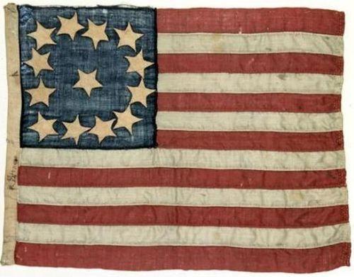 13 stripes on flag