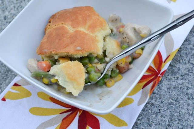 Impossibly Easy Chicken Pot Pie-3 | Recipes | Pinterest