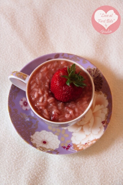 strawberry risotto. Umm..such a great idea! I'm gonna try to make it..