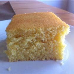 Homesteader Cornbread Allrecipes.com this is in my oven right now ...