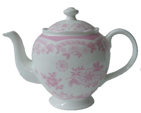 Chantilly teapot