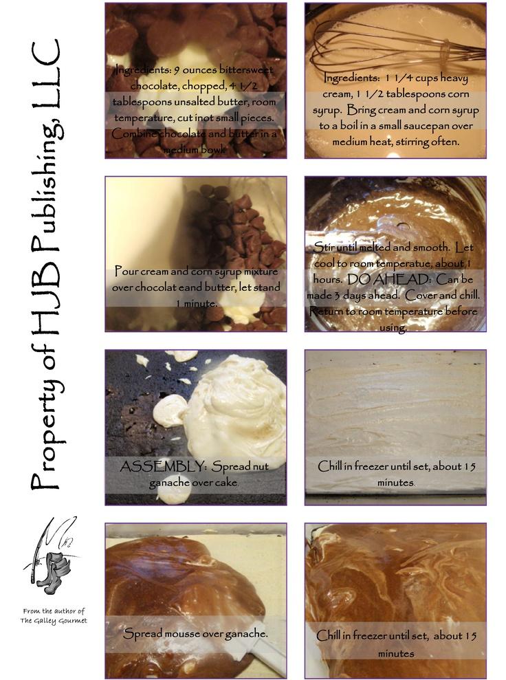 ... of 8 | Chocolate Hazelnut Cake with Praline Chocolate Crunch