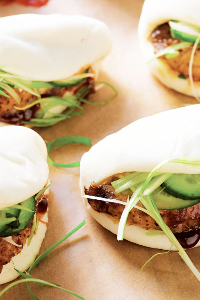 Chinese Roast Chicken Buns | Food and Libations | Pinterest