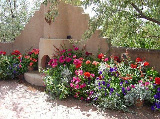 Southwest garden color for the garden pinterest for Garden inspiration