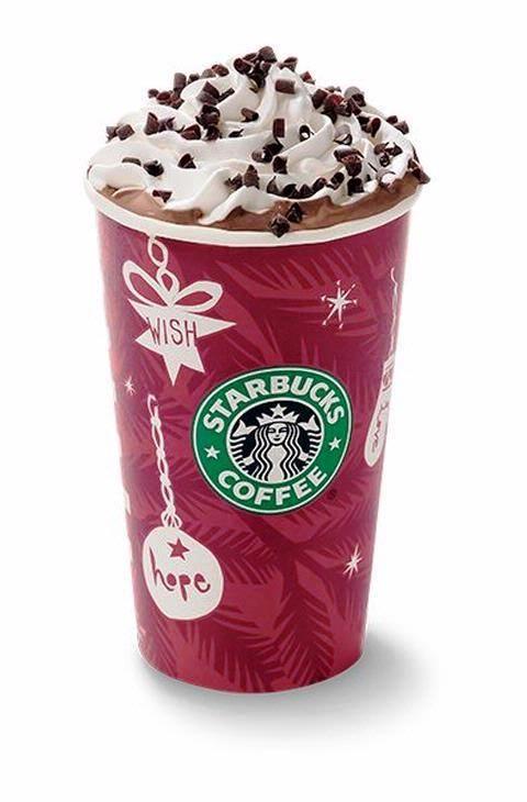 Starbucks Peppermint Mocha - Uh, oh yeah, baby!