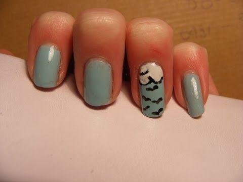 Simple summer/spring nail art tutorial. | Nail Art | Pinterest