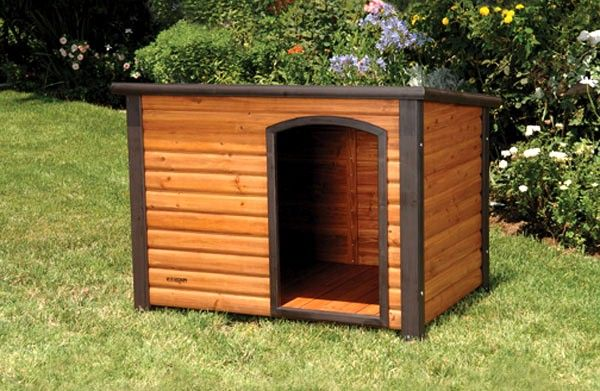 Extreme outback log cabin dog house large dog houses for Outback log cabin dog house
