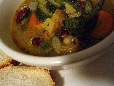 Provençal Bean and Vegetable Soupe au Pistou | Recipe