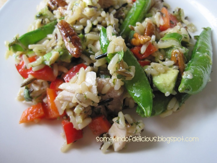 ... chicken dijon chicken rice salad recipes dishmaps dijon chicken rice