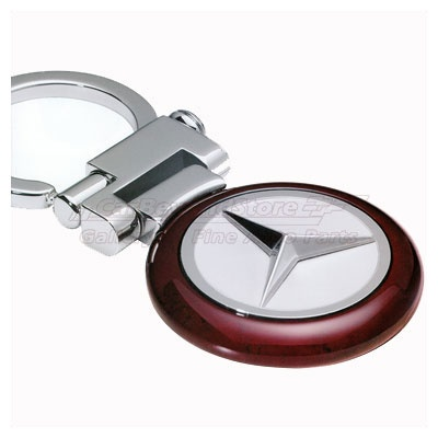 Mercedes benz burl wood key chain key chains for Mercedes benz key chain