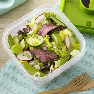 Sesame-Ginger Steak Salad   Recipe