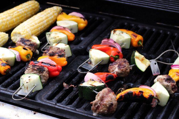 Grilled Meatballs and a FireWire Grilling Tools #Giveaway