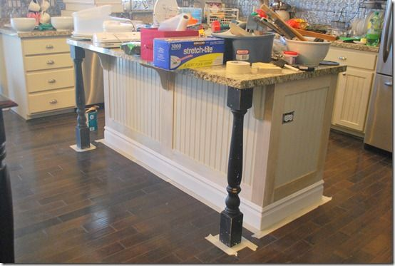 how to add moulding to island for the home pinterest