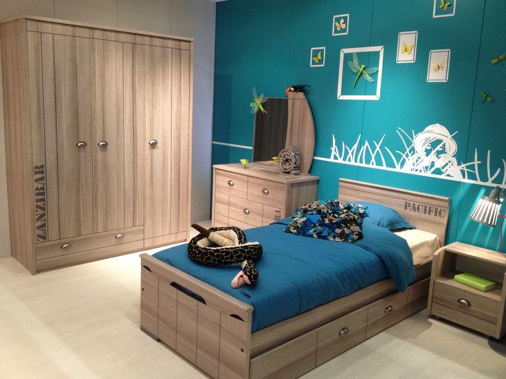 Pinterest stoere slaapkamer steigerhouten wand voor televisie slaapkamer inspiratie - Idee deco kamer kleine jongen ...