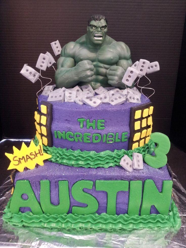 Incredible Hulk Cake Design : Incredible Hulk Cake Custom Cake Designs & More Pinterest