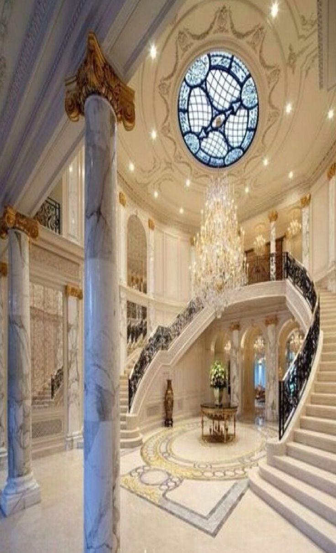 Luxury Mansion Foyer : Luxury mansions foyers⭐️ foyer entrances hallways