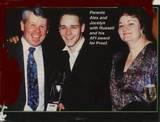 With Mom, Jocelyn and Dad, Alex