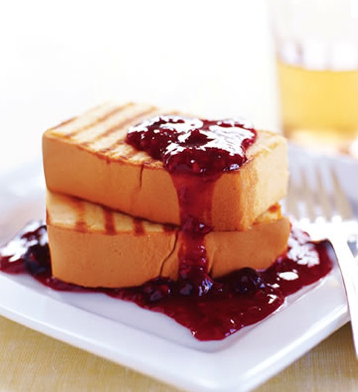 grilled pound cake | Jams & Preserves | Pinterest