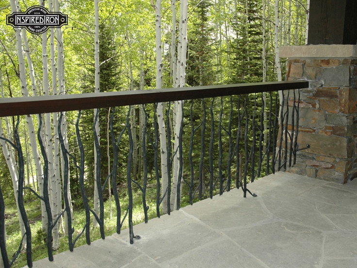 Iron Twig Railing From John And Bessie