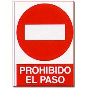 Pin by cmanager janfer on se ales de prohibici n pinterest - Prohibido el paso ...