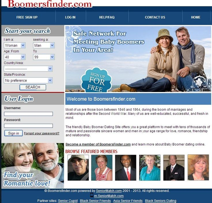 Dating for baby boomers follow these-in-Mahia