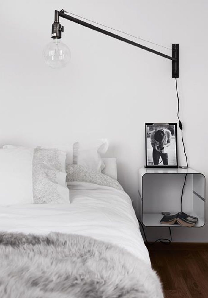 Swing-arm wall light BODIE and FOU Bedroom Pinterest