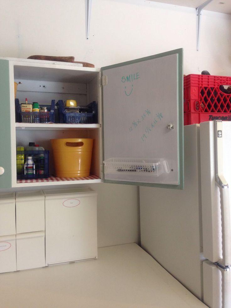 garage storage ideas site pinterest.com - Garage cabinet storage ideas