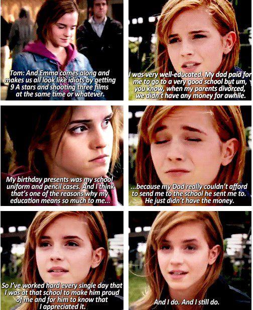 Emma Watson is an amazing role model.