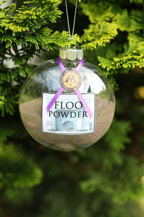 dr dre beats studios Harry Potter Christmas Ornament  Floo Powder