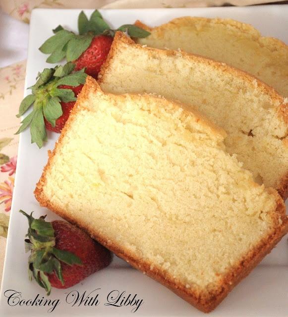Grandmother's Pound Cake - 5 ingredients | Cake | Pinterest