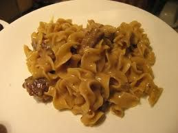 Slow Cooker Stroganoff: Mushroom free!! Lighten with low fat soups and ...
