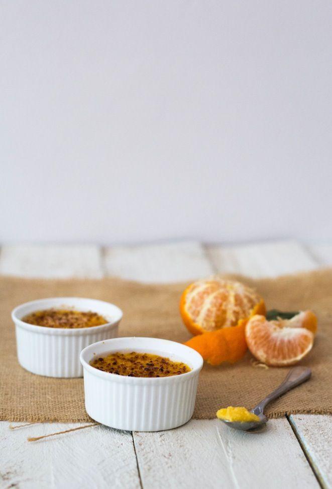 Tangerine Crème Brûlée Tarts | Sweet Deliciousness | Pinterest