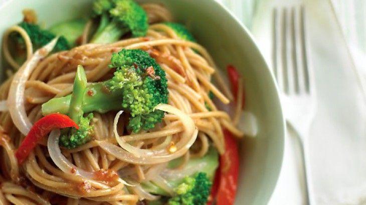 Lighter Sesame Noodles   Food   Pasta   Pinterest