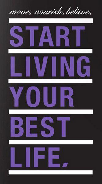 Start living your best life jalkatreeni