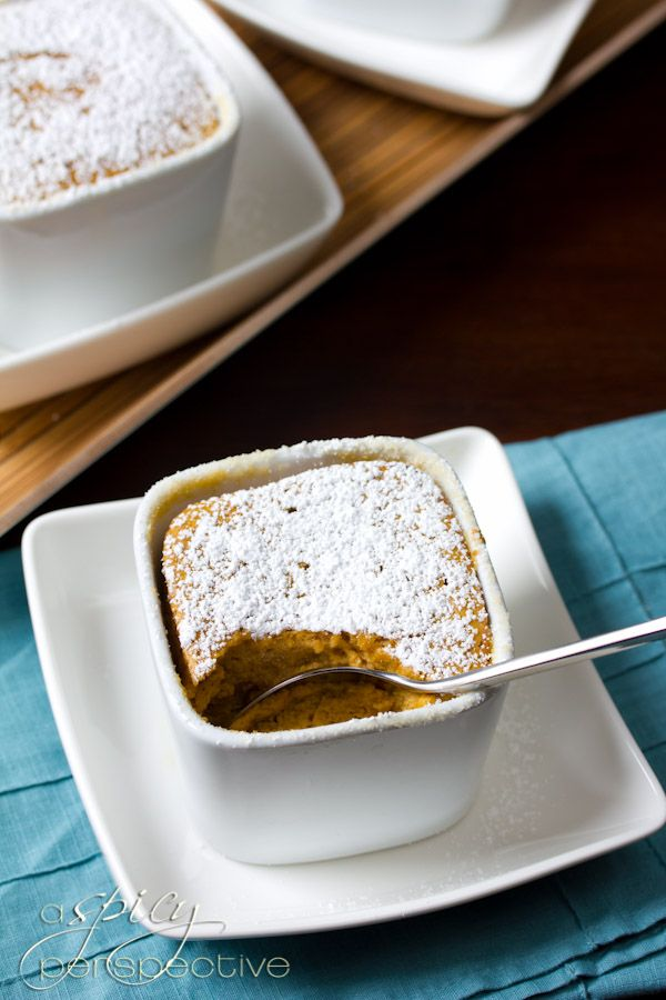 Tender Sweet Potato Souffles | @Sommer | A Spicy Perspective # ...