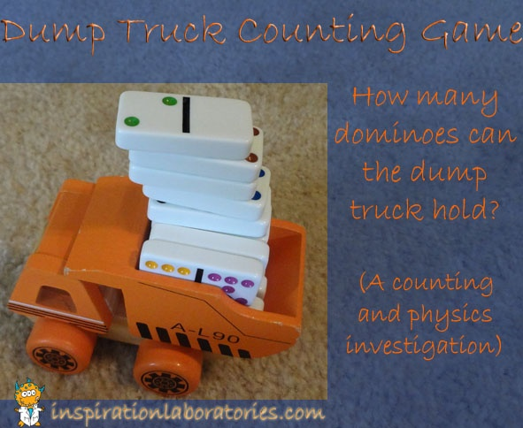 Dump truck counting game