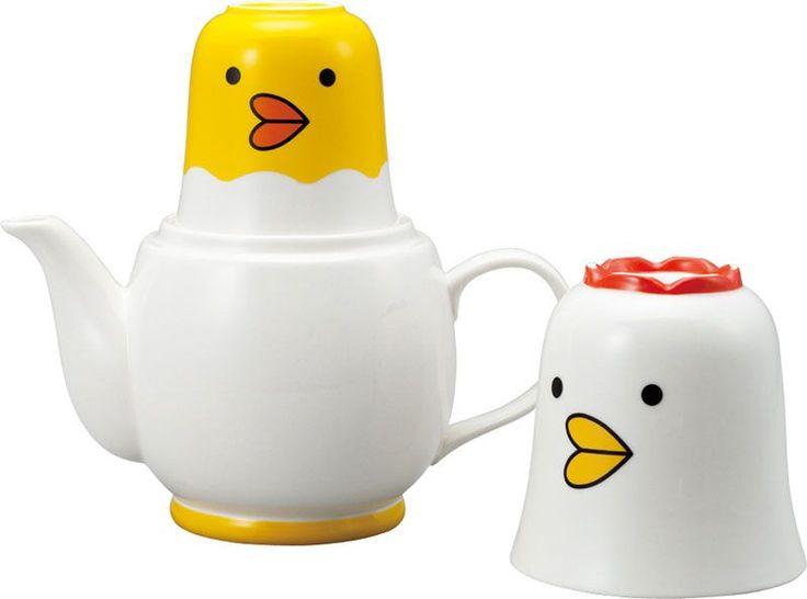 Chicken Tea for Two Set | Tea Stacks - J Style | Pinterest