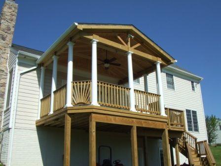 Porch gable end designs joy studio design gallery best for Open porch roof designs